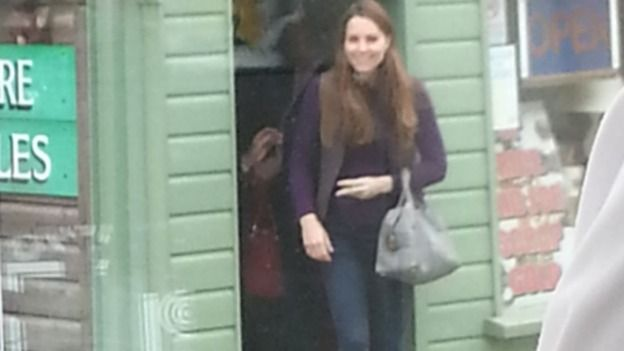 April 13, 2013 - The Duchess of Cambridge has been seen shopping in Holt in the past. Credit: Emma Walker