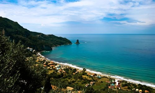 The Island of Corfu on the Ionian Sea a heaven for your Greek Island Vacations
