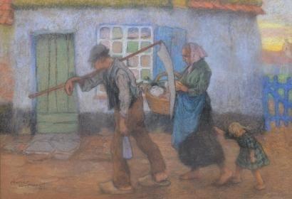 Artist Romeo Dumoulin