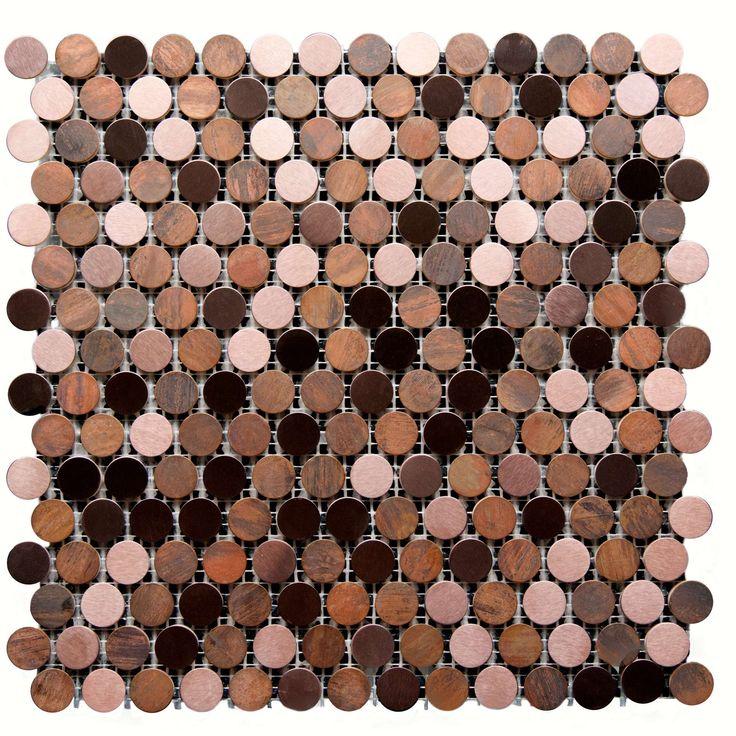 Mozaika metalowa 29x29 MaxHome Blink YGC005 - Mozaiki - wyposażenie wnętrz Max-Fliz