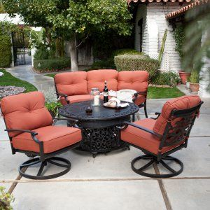 Fire Pit Patio Sets On Hayneedle   Fire Pit Patio Sets For Sale