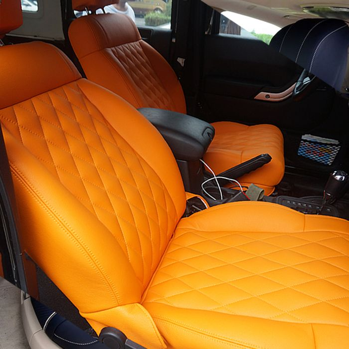 Multicolor Car Seat Covers