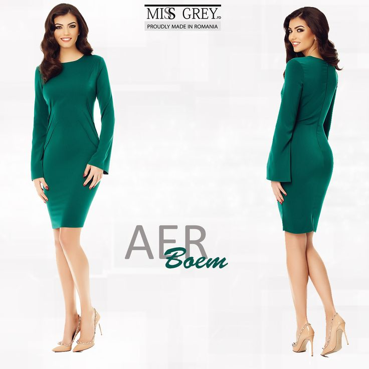 Let everybody discover your feminine side with the elegant Aria dress by MissGrey !