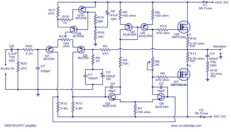 Image Result For Diy Amplifier Circuita