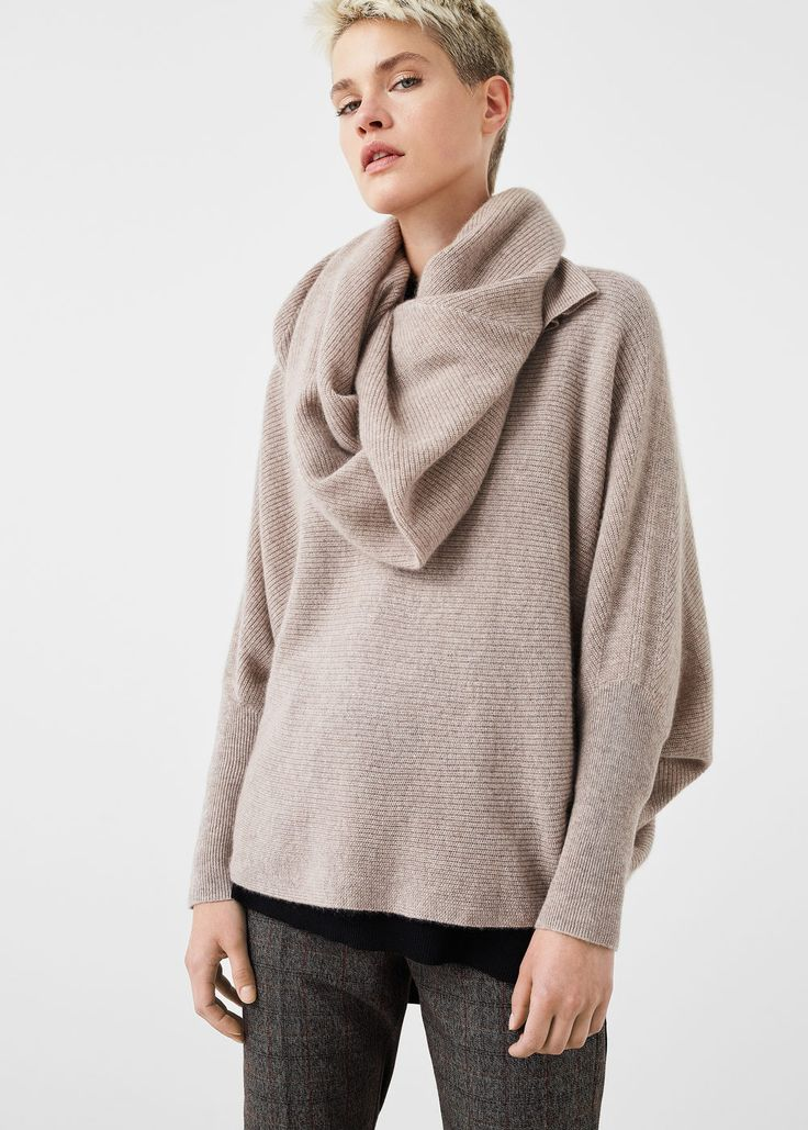 Pullover oversize 100 % cashmere | MANGO