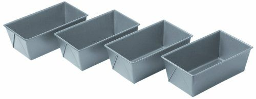 Chicago Metallic Commercial II Non-Stick Mini Loaf Pans, Set of 4 Chicago Metallic http://smile.amazon.com/dp/B003YKGQVK/ref=cm_sw_r_pi_dp_Ks4uvb1C671CH