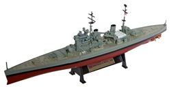 Amercom AMERCOMSHIP04 Royal Navy King George V Class Battleship - HMS Prince of Wales (53) [With Collector Magazine] (1:1000 Scale)
