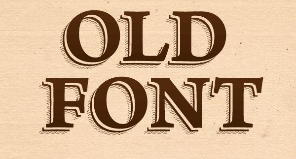 How to Create an Old Font Text Effect in Illustrator