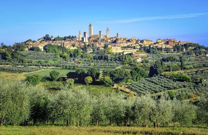 Non andate mai laggiù - San Gimignano