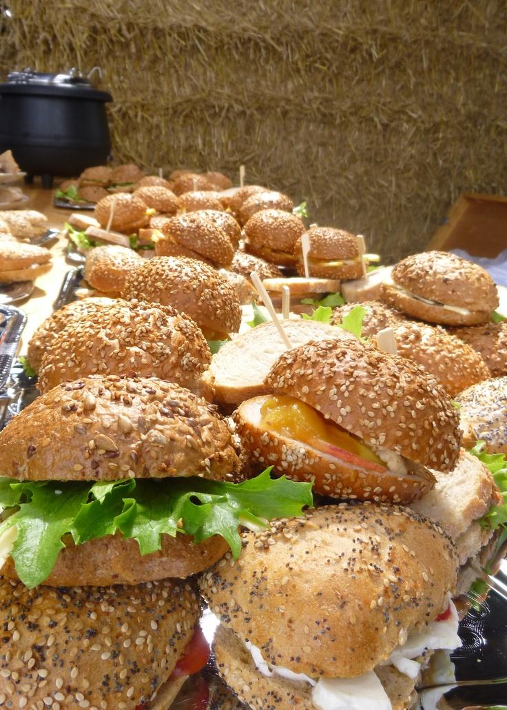 Heerlijke lunches bij u op locatie