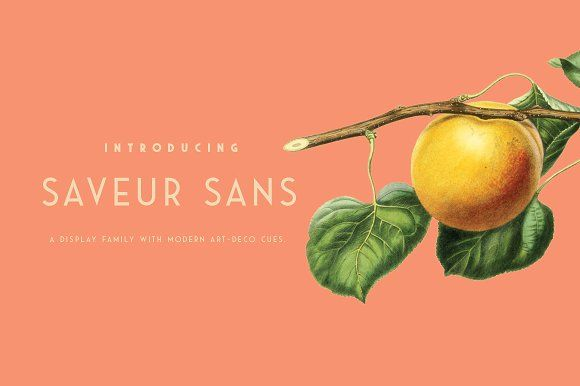 Saveur Sans by Arkitype on @creativemarket