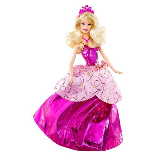 AmazonSmile: Barbie Princess Charm School Princess Blair Transforming Doll: Toys & Games