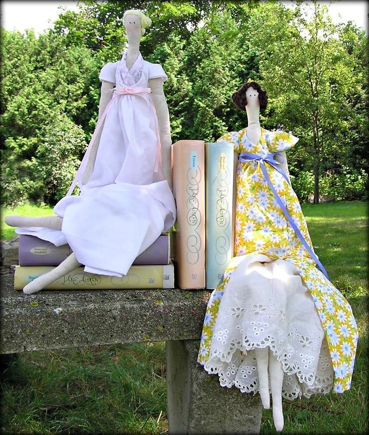 A Love of Handmade Dolls and Jane Austen: Pattern