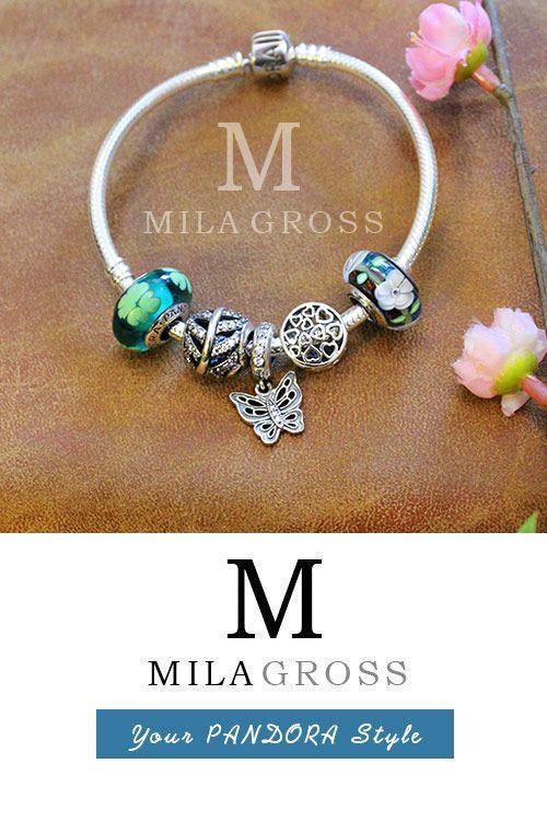 """Браслет Пандора (Pandora) """"Лесная фея"""", серебро. Ссылка на товар: http://mila-gross.com.ua/pandora-silver/bracelets/bracelet-lesnaya-feya #браслет пандора, #Pandora Украина."""