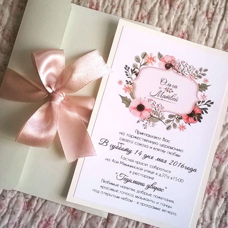 свадебные пригласительные - Поиск в Google
