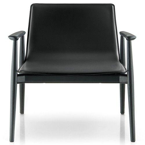 pedrali malmo lounge chair upholstered
