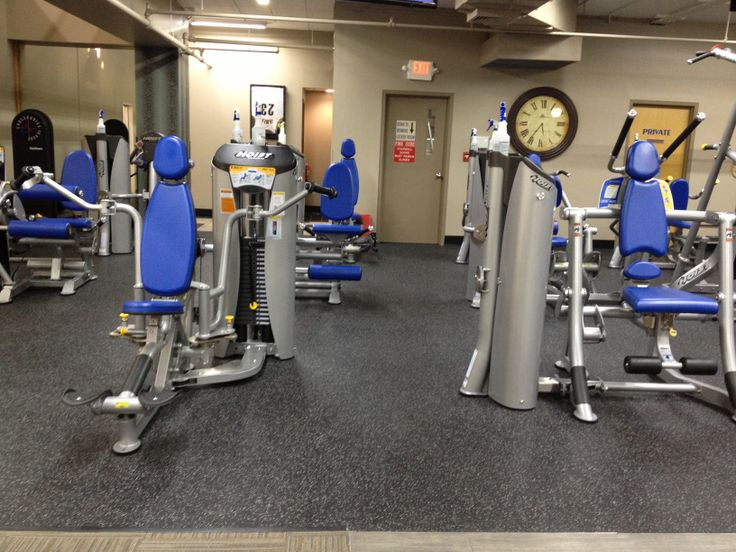 Cleveland Fitness Club features Hoist Fitness Strength equipment.