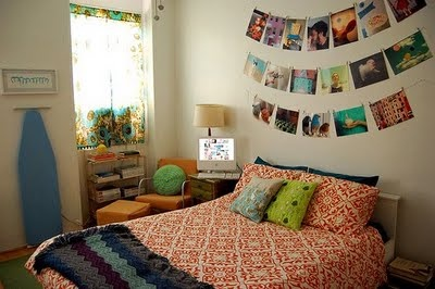 {Sprinkle Diary}: How-To: Decorate a Dorm Room! BUY CLOTHESPINS