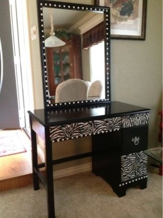 96 best desk turned makeup table/mirror images on Pinterest | Home ...