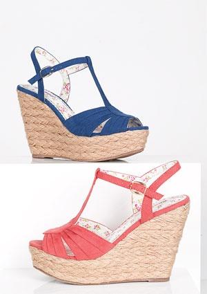 Cute wedges: Fashion, Style, Dream Closet, Summer Shoes, Coral Wedges, Bella Wedge, Summer Wedges, Shoes Shoes, Delias Shoes