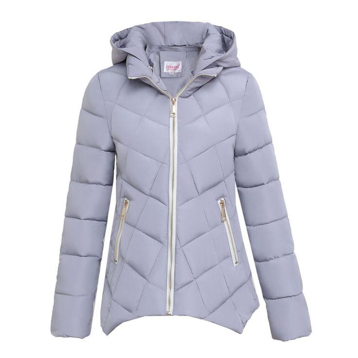 2017 New Fashion Winter Jacket Woman Uniform Warm Jackets Women Parka Coat Cotton Female Parkas Women's Jacket F801 #Affiliate