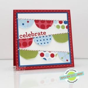 Banner Birthday Stampin' Up! Card by Andrea Walford by delores