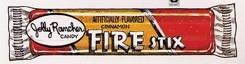 Jolly Rancher Fire Stix....... Mmmmm. I remember my grandma letting us get these when we came to visit.