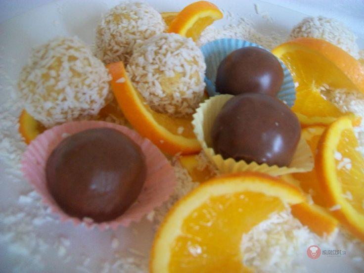Vanilkovo-pomarančové guľky