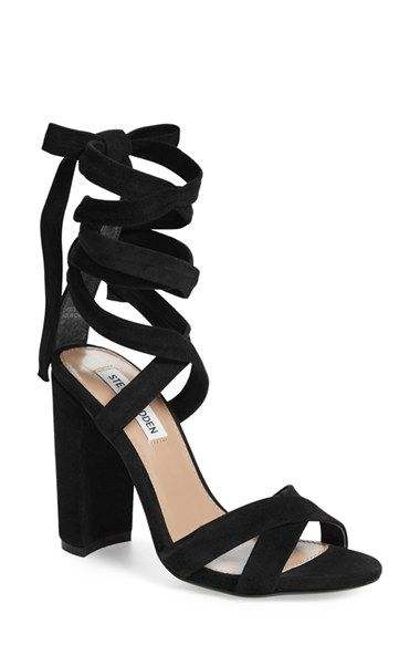 Steve Madden 'Christey' Wraparound Ankle Tie Sandal (Women) available at #Nordstrom