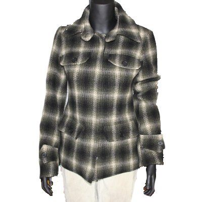 Adele Fado Damen kurz Mantel Jacke Gr S: Amazon.de: Bekleidung
