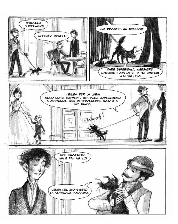 #aaa la graphic novel su Alessandro Antonelli. textours: Cinque domande a Ilaria Urbinati sul mondo di carta di Antonelli