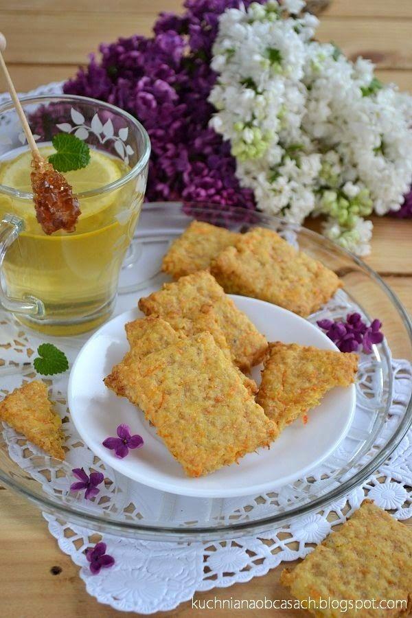 kuchnia na obcasach: Ciastka owsiane z marchewką