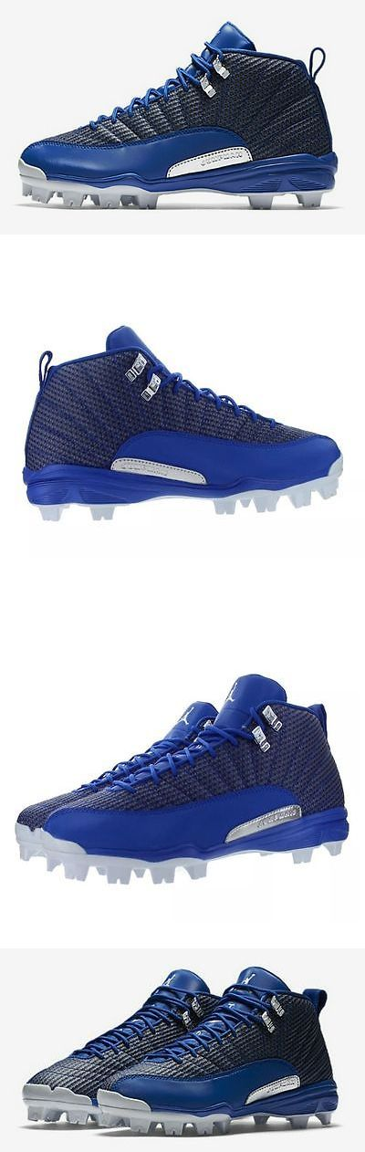 Mens 159059: {854566-400} Mens Jordan 12 Retro Mcs Baseball Cleat Game Royal Fowler *New* -> BUY IT NOW ONLY: $83.95 on eBay!