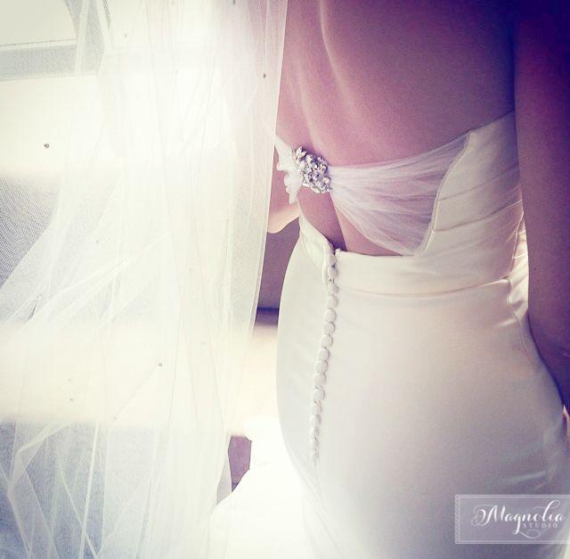 Magnolia studio Bride dress www.weddingsbymagnolia.com