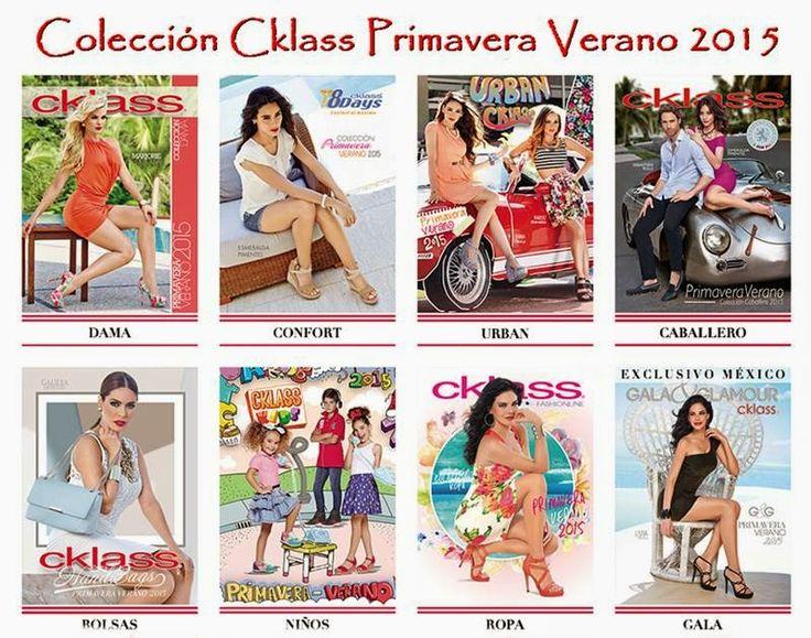 Catalogos Cklass Primavera Verano 2015. Mira ropa y zapatos de moda en los 8 Catalogos Cklass 2015