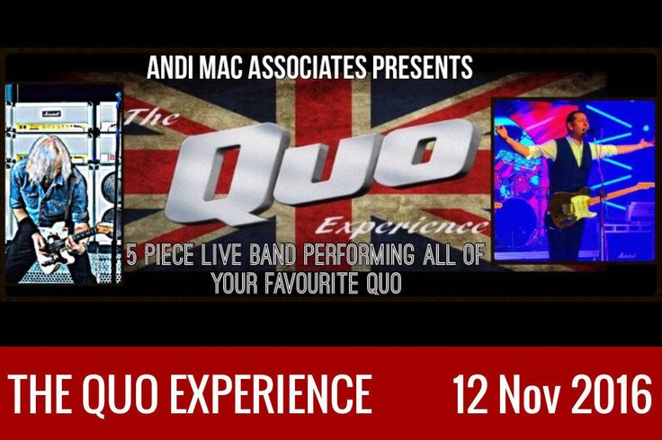 Now that Status Quo are sadly coming to the end of many years of 'live' touring, there will soon be a huge gap in the lives of hundreds of thousands of Quo fans who have been used to seeing their favourite band year in, year out. But all is not lost; there is a new …