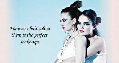 Make-up and hair: find out the best make-up according to your hair colour! Now online on: http://www.bluorange.it/en/not-only-beauty/hair-and-make-up-each-hair-colour-has-its-perfect-makeup #bluorange #hair #makeup #beauty #haircolour #notonlybeauty #blog