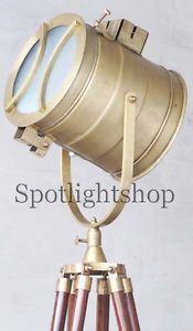 Nautical Photography Studio Lamp Floor Searchlight Lamp WTripod Stand -Spot Lamp Size: 23 x 22 x 183 cm