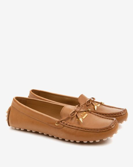 Round toe moccasins - Tan | Shoes | Ted Baker