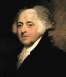 John Adams 1735 - 1826, Massachusetts, 2. Präsident der USA 1797-1801