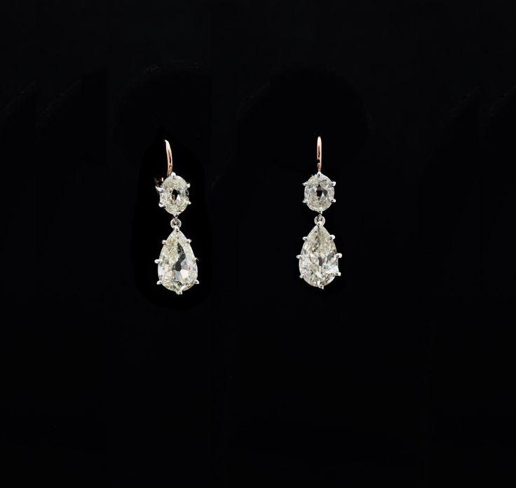 OLD MINE DIAMONDS EARRINGS COLUCCI DIAMONDS