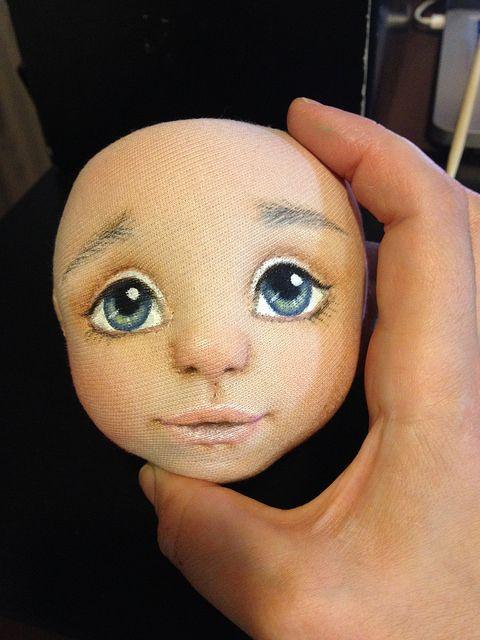 Флора и ее зайка или как рождается кукла / Изготовление авторских кукол своими руками, ООАК / Бэйбики. Куклы фото. Одежда для кукол