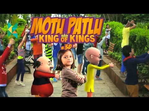Motu Patlu: King of Kings in 3D Movie Review Hindi : Motu aur patlu ki jodi song dance  movie 2016 - YouTube