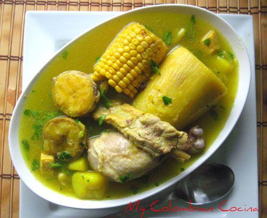 Sancocho Tolimense Colombia, cocina, receta, recipe, colombian, comida.