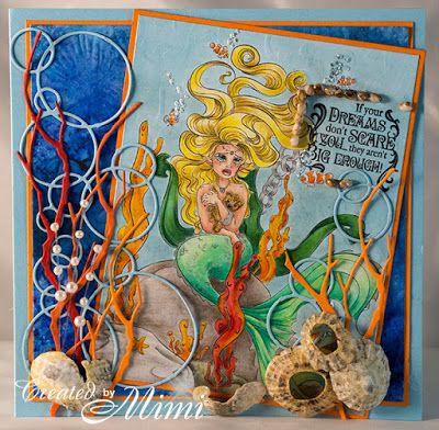 using Concetta Kilmer's 'Teddy Bear Mermaid