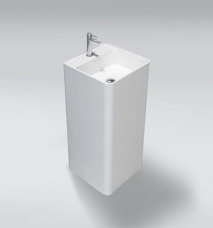 Umywalka wolnostojąca Ravon Gladio (50x43x H=89) to najnowszy model stworzony przez polska manufakturę Ravon