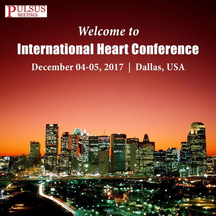 """Heart 2017 is going to be held in December 04-05, 2017 at Dallas, USA. The conference focuses on the theme """"The Heart of innovation and exploration""""."""