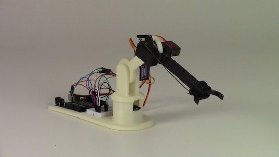 The little Arduino robot arm that could!