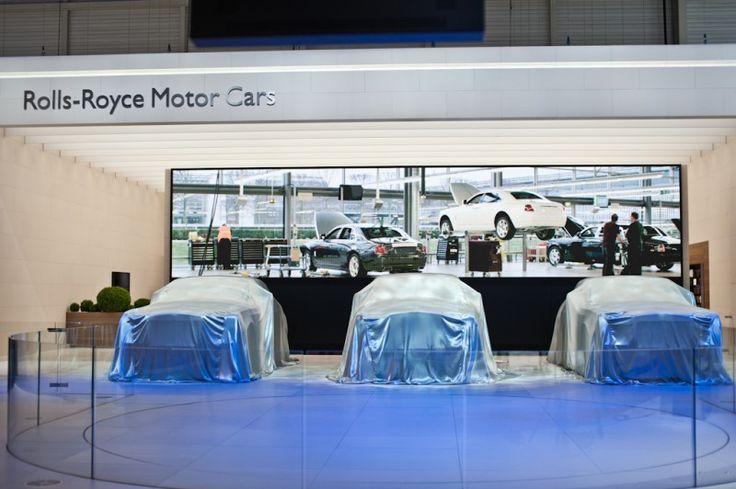 Rolls Royce stand at Geneva Show #geneva #rollroyce #stand more: http://premiummoto.pl/genewa2012/82-geneva-international-motor-show-alternatywnie