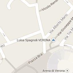 percorso multimediale realizzato su google maps di Verona